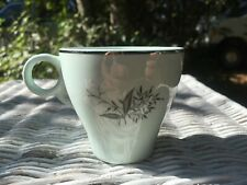 Rare Vintage Lady Empire Permacal Lily of the Valley Demitasse Cup Mint Green