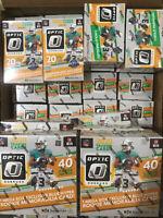 2020 Panini Donruss Optic Football Mega, Blaster, Hanger and Cello Many Options