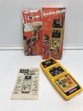 Coleco Head to Head BASKETBALL Electronic Handheld Tabletop Arcade Game-WORKS-
