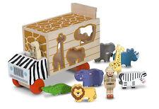 Melissa & Doug Animal Rescue Shape Sorting truck Wooden Toys