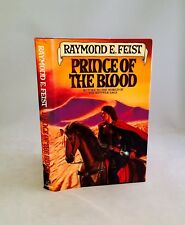 Prince Of The Blood-Raymond E. Feist-SIGNED!!-TRUE First Edition/1st Printing!!