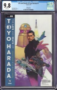 The Life and Death of Toyo Harada #1 (Valiant, 2019) CGC 9.8 Variant Cover