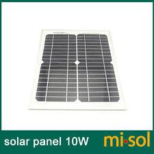 10w solar panel for 12V system,monocrystalline, panneau photovoltaïque, module