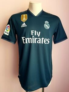 Real Madrid 2018-2019 Third football Adidas climachill shirt size M Player Issue