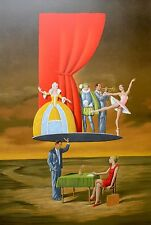"""Rafal Olbinski """"Predictable Assumption"""" Signed & Numbered lithograph with a COA"""