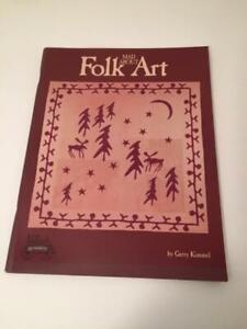 Folk Art Quilt Book by Gerry Kimmel
