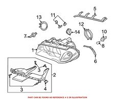 For BMW Genuine Headlight Seal Right Upper 63126939274