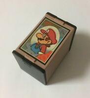 USED Nintendo Mario Hanafuda Black JAPAN Japanese Club Nintendo Playing Cards