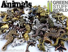 Set Colgantes ANIMALES 85gr (50-60 unidades xSet) - Abalorios Joyeria Steampunk