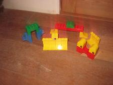 DUPLO LEGO RARE UNUSUAL BUILDING CONSTRUCTION BRICKS MONSTER EYES HOUSE ARCHES