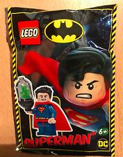 SACHET POLYBAG LEGO MINIFIGURE FIGURINE NEUF SUPERMAN KRYTONITE DC COMICS