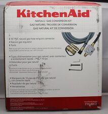 KitchenAid Natural Gas Hose & Regulator for Gas Grill Conversion, Model 710-0003