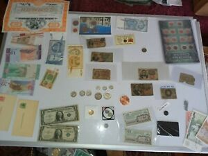 Silver coins collection & certificates ,gold ,fractional currency rare notes lot