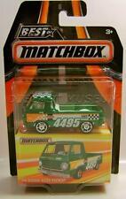 1966 '66 DODGE A100 PICKUP TRUCK BEST OF MATCHBOX RUBBER TIRES RR DIECAST 2016