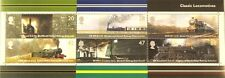 Classic locomotive 200th anniversary of first rail journey GB 2004 mint stamps