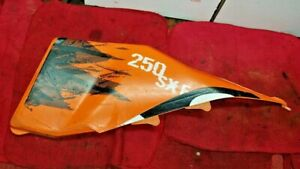 KTM 250 SXF 2007 SX-F AIR BOX COVER ORANGE