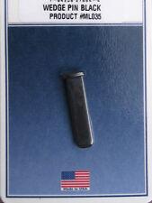 Barrel Wedge Pin (Blued Steel) - Fits Thompson Center Renegade CVA Rifles Etc.
