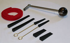 Special Edition Piano Tuning Kit w/ Ball Handle Tuning Lever + Mutes + Temp