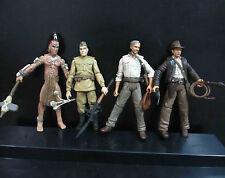 lot of 4 Indiana Jones  Warrior  Russian Soldiers Action Figures #fs4