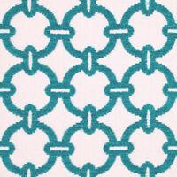 Alaxi / Silver State- Karma/Aruba- 3.90 yds- Outdoor Geometric Chenille-STUNNING