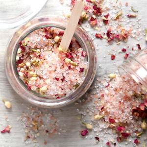 1KG ROSE PETAL 🌹Aromatherapy Bath Salts ESSENTIAL OILS ~FREE POST~VEGAN