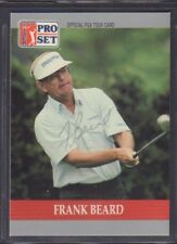Frank Beard 1990 PGA Tour Pro Set #77 Autographed Signed jhpsg