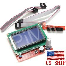 LCD 12864 Graphic Smart Controller for RepRap RAMPS 1.4 3D Printer Mendel Prusa