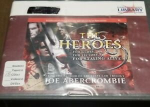 Joe Abercrombie The Heroes 18 CD  read by Michael Page Sequel to The First Law