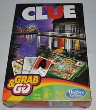 CLUE Grab & Go Travel BOARD GAME Hasbro
