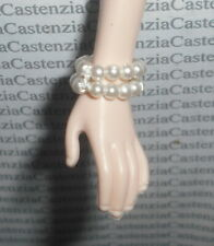 Jewelry Barbie Doll Between Takes Faux Double Pearl Bracelet Accessory Diorama
