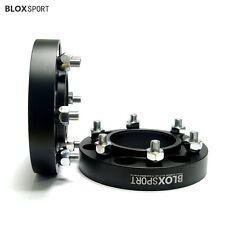 4X 30mm Hub Centric Black Wheel Spacers 6x5.5 for Toyota HiLux FJ Cruiser Tacoma