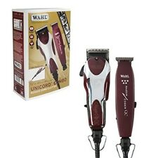 Wahl Professional Barber Machine Hair Cutting Kit Clipper Haircut Trimmer Set
