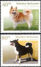 Iceland 2001 Icelandic Sheepdogs/Dogs/Working Animals/Pets/Nature 2v set (s370)