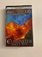 Elmister Must Die: The Sage Of Shadowdale By Ed Greenwood (2010, Hardcover)