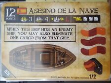 Pirates of the Spanish Main #078 Asesino De La Nave Pocketmodel Mint