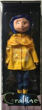 "CORALINE (RAIN COAT) 2017 Neca LAIKA Neil Gaimans 7-8"" Inch DOLL * IN STOCK *"