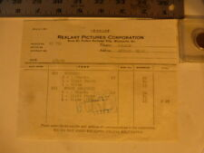 Movie Billhead Realart 6/17/1920 Nurse Marjorie-Mary Miles Minter Arthur Hoyt