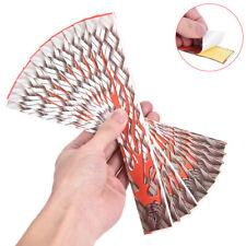 DIY Pfeilschaufel Sticker Zubehör Bogenpfeil Zusatz Wraps 12pcs//Set Schacht