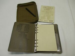NEW RITE IN THE RAIN ALL WEATHER NOTEBOOK COYOTE BROWN COVER PAPER PEN 9200T-KIT