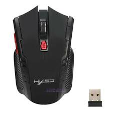2.4GHz Wireless 2400DPI 6 Buttons USB Optical Gamer Gaming Mouse Mice for Laptop