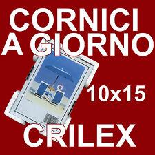 CORNICE A GIORNO 10x15 CRILEX ANTINFORTUNISTICO - Pacco da 6 Pz.- CORNICI CRILEX