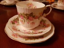 Queens fine bone china Trio WOMAN AND HOME,     Cup,Saucer,Plate. More Available