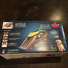 BISSELL Pet Stain Eraser Advanced Cordless SpOt Cleaner (No Power Cord)
