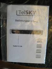 Gebrauchsanweisung Digital Receiver  TelSKY S 140
