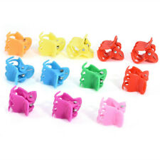 20Pcs Multicolor Mini Small Plastic Claws Clips Kids Women Hair Accessories