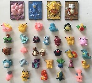 Pokemon The Movie 2000 Burger King Pikachu Project Toys Bandai Mini-Figures Lot