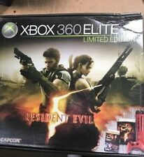 Microsoft Xbox 360 Elite Resident Evil 5 Limited Edition 120GB Red Console (NTSC