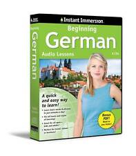 New 6 CD Beginning GERMAN Language + Transcripts (Learn in Your Car)