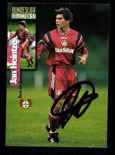 Jan Heintze Bayer Leverkusen Panini Card 1997 Original Signiert +A99108