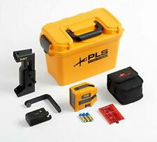 Fluke PLS Kreuzlinien-/Punkt Lasernivelliergerät Laser Nivelliergerät  Kit  rot